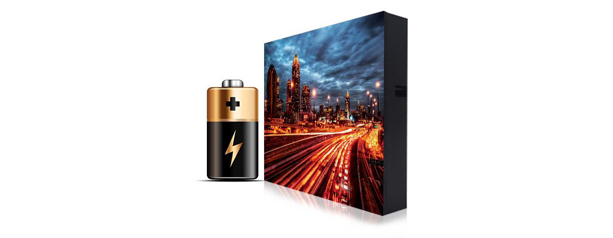 P4 outdoor SMD led display video wall for energy saving
