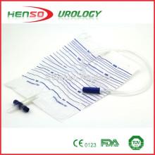Urinentwässerungsbeutel mit T-Ventil (Kreuzventil)