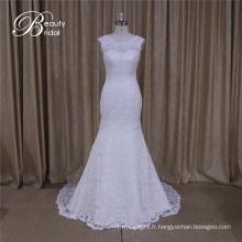 Cap manches modèles de robe de mariage