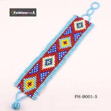 moda joias artesanais entre pulseira flor