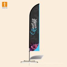 Прочный двухсторонний пляж баннер баннер