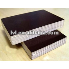 film faced plywood in black or brown colar