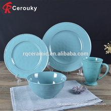 Hotel Restaurant use ceramic dinner set dinnerware set