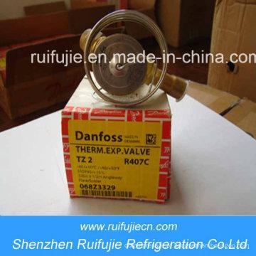 Válvulas de Expansão Termostática Danfoss R404A / R507 / R22 / R134A Tz2