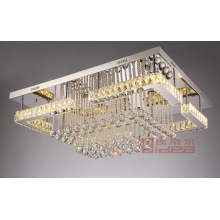 Rectangular Crystal Chandelier For Sale