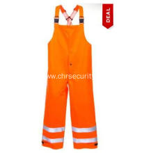 Hi Vis FR Waterproof Safety Bib Overalls
