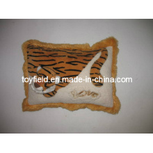 Square Cushion Plush Stuffed Tiger Plush Pillow