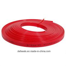 Tira vermelha do guia de 12.5 * 2.5 Phenolic na tira da forma das bobinas