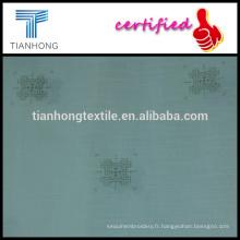 Orient style impression 100 coton/popeline fond blanc de fibre slub tisser des vêtements de fot de tissu léger