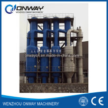 Acier inoxydable Titane Vacuum Film Evaporation Crystallizer Waste Water Effluent Treatment Plant