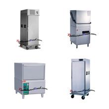 La temperatura alta del equipo del restaurante esteriliza el lavaplatos que lava el lavaplatos el lavaplatos automático