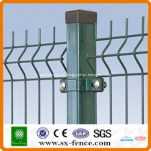 Anping Shunxing Factory Valla curvada de malla de alambre soldado