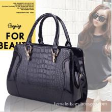 The new fashion light wave packet Korean version of one hundred new Mobile Messenger bag crocodile pattern charm handtas handbag