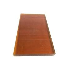 Virgin polyetherimide material amber color PEI sheet