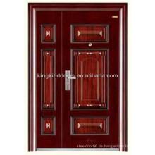 Stahl, Sicherheit Tür ein und eine Hälfte Tür/Mutter und Sohn KKD-520B aus China Fabrik