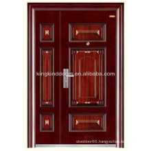 Steel Security Door One and a half Door/Mother and Son KKD-520B From China Factory