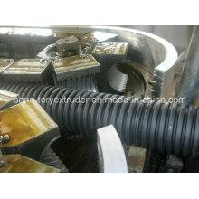PE/PP/PVC Single Wall Corrugated Pipe Extrusion Machine Line