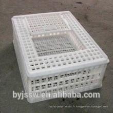 Cage de poulet de transport professionnel pour la volaille