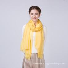 Meilleure vente teints plaine écharpes de couleur unie écharpe femmes