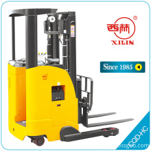 China Gold Supplier for for Full-Electric Platform Stacker Truck,Full Electric Stacker With Platform,Full Electric Stacker Truck Manufacturers and Suppliers in China Xilin CQD-HC electric fork reach truck supply to Aruba Suppliers
