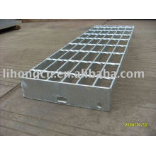 Galvanized stair tread
