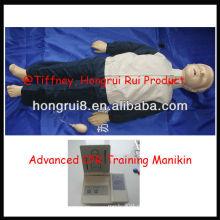 Детский юношеский детский юношеский медицинский персонал, манекен для оказания первой помощи