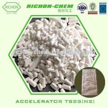 El suministro de China ayuda a las mejores sustancias químicas CAS NO.95-31-8 SBR El zapato de goma suelda el acelerador de goma crudo NS TBBS