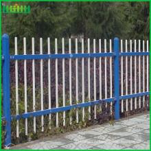 Цинковый декоративный стальной забор производитель