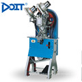 DT-108 industrial superior de couro de borracha de lona sapatos de dupla face botão máquina de costura industrial