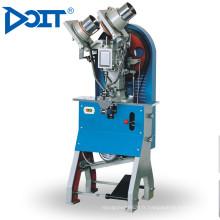 DT-108 industrielle automatique supérieure en cuir toile chaussures en caoutchouc double côté bouton machine à coudre industrielle