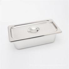 Accesorios de cocina de acero inoxidable Sartén Gastronorm GN Pan Buffet Plato de comida