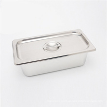 Bufete da bandeja de Gastronorm GN dos acessórios de aço inoxidável da cozinha que aquece a bandeja do alimento do prato