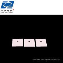 meilleur substrat de disque en céramique d'alumine