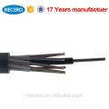 Cable de 12 hilos GYTY53 para telecomunicaciones.