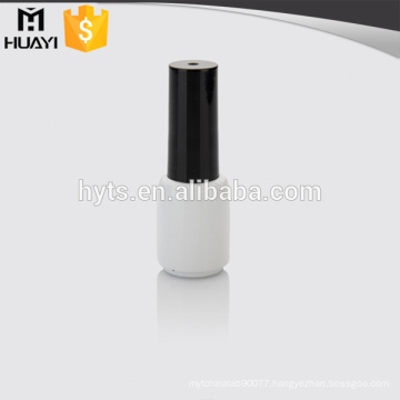 white round glass nail polish bottle for nail polish