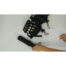 folded small magic change color cheap black umbrella