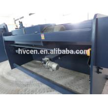 Máquina de corte láser de acero inoxidable q11-8 * 2000