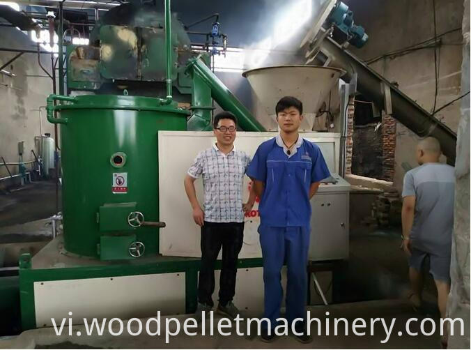 wood furnace pellet burner