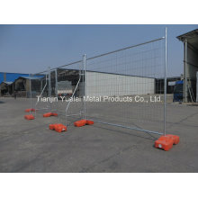 Wholesale Temporary Removable Lower Price Chain Link Fence/Hot Dipped Galvanized Temporary Fence for Highway