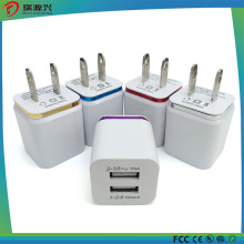 Home Travel USB Wall Charger Dual USB Wall Charger 5V 2.1A 5V1.0A