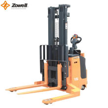 Electric Straddle lift stacker