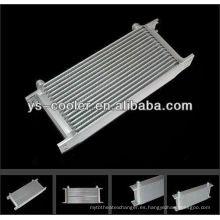 Refrigerador de aceite de motor de aleta de aleta de aluminio