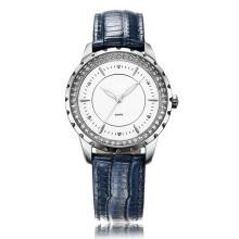 Montre à bracelet en cuir bleu chez 3ATM Water Resistance Super Fashion pour femme