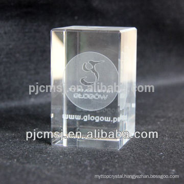 Wholesale Personalized 3D laser Crystal cube Customized Crystal Crafts