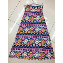 Mode pour dames imprimé jupes taille haute élastique jupes