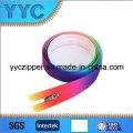 Специальная красочная застежка -молния застежки -молнии нейлона 3 # Eco-Friendly