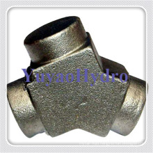 Hydraulic Fittings Y Hot Forging