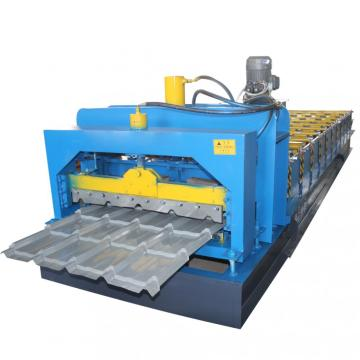 Colored Steel Roof Glazed Tile Machine