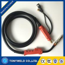 P500A mig / mag / CO2 Schweißbrenner 3M / 4M / 5M mit rotem Griff