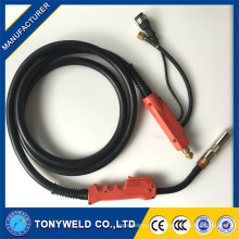 p500A mig/mag/CO2 welding torch 3M/4M/5M with red handle